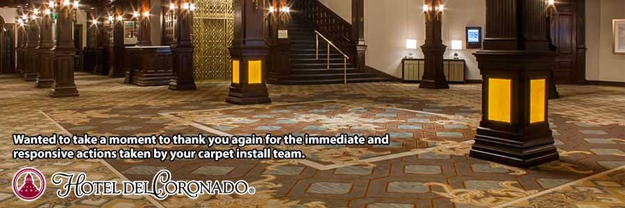 SoCal Flooring Carpet Hotel Del Coronado San Diego