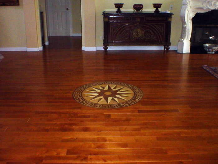 SoCal Flooring Carpet Hardwood Medallion La Jolla 2