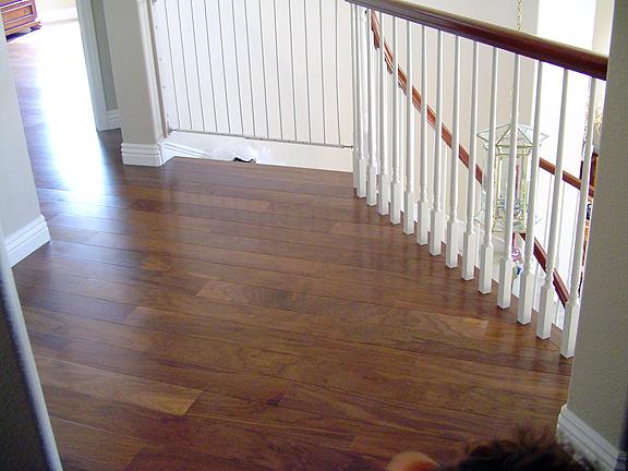 SoCal Flooring Carpet Hardwood Walnut Natural After 2