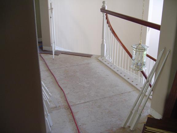 SoCal Flooring Carpet Hardwood Walnut Natural Before 2