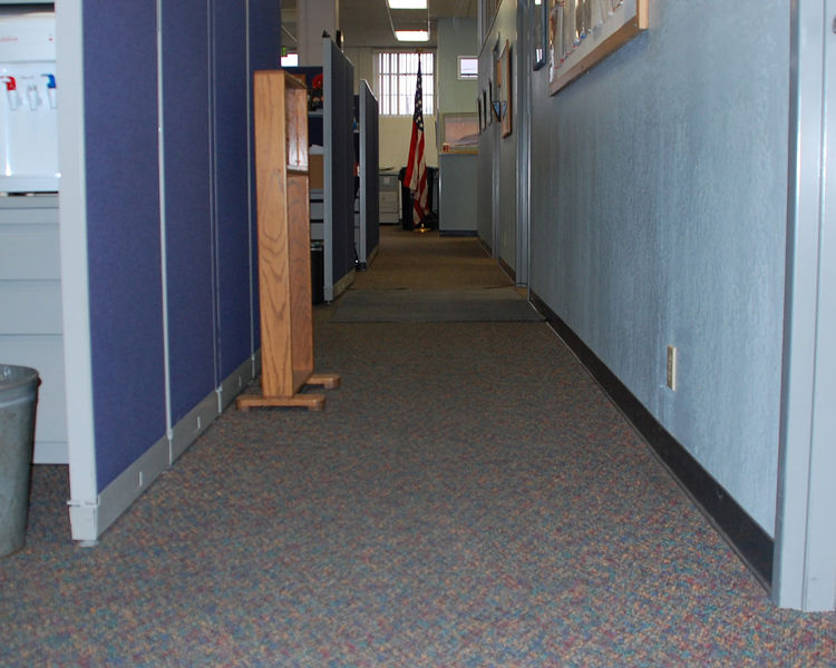 Miramar Fire Station San Diego - Commercially patterned carpet