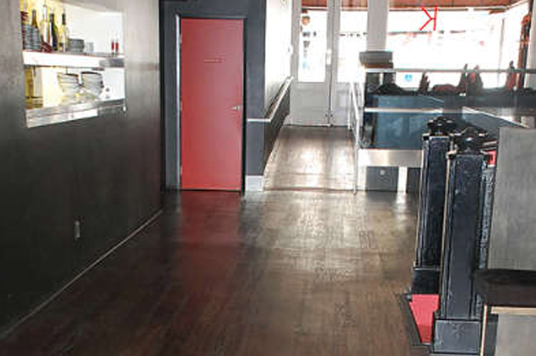 The Merk Restaurant San Diego - Mohagany click floating floor