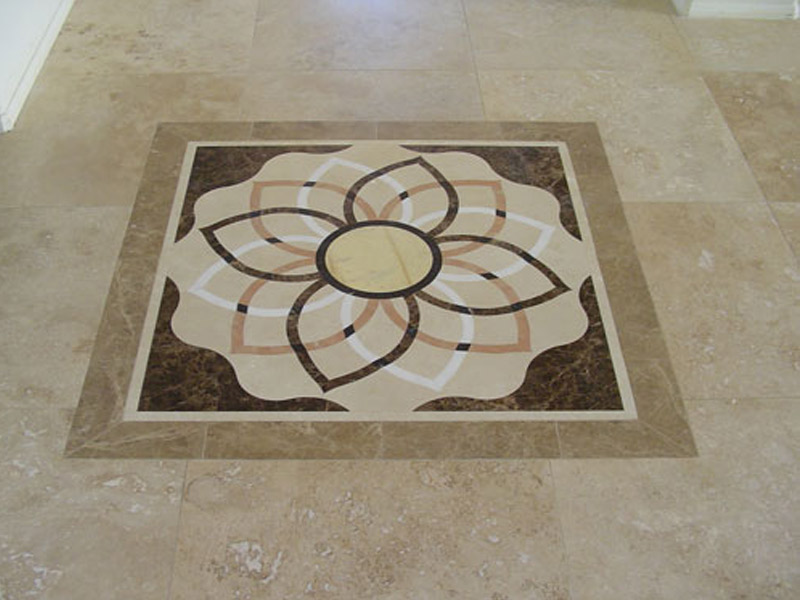 Socal Flooring And Carpet Marmol Medallion