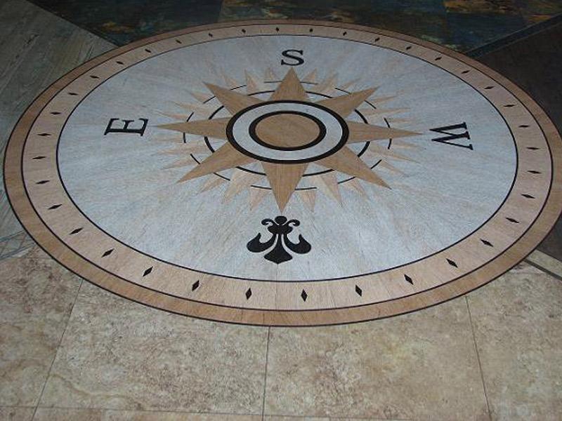 Socal Flooring And Carpet Resiliant Vinyl Flooring Medallion