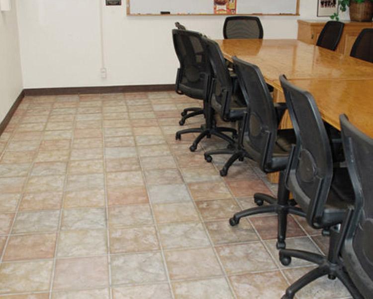 Miramar Fire Station San Diego - Ceramic tile flooring