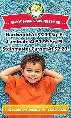 Enjoy Spring Savings - SoCal Flooring and Carpet
