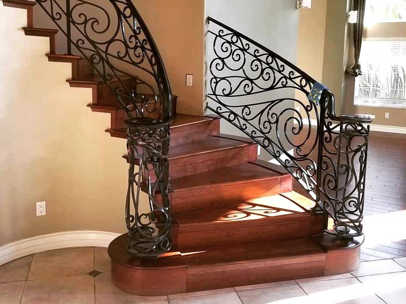 Hardwood Stairway for home in San Diego